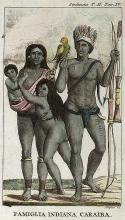 A Carib family by John Gabriel Stedman.