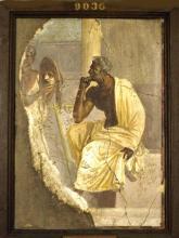 A Roman Tragic Actor Contemplates his Mask