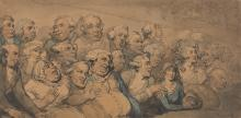 An Audience at Drury Lane Theatre