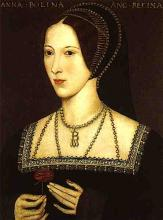 Anne Boleyn about 1534: King Henry VIII.