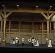 Another Shot of the Globe Much Ado About Nothing Production