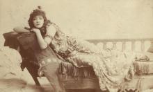 Antony and Cleopatra, Sarah Bernhardt as Cleopatra, 1890