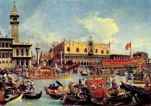 "Canaletto: a Venetian Festival - ""Merchant of Venice"""