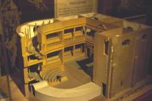 Cutaway Model of the Inigo Jones Indoor Theatre, 1997