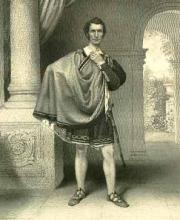 Cymbeline, Thomas Mead as Iachimo, 19th Century
