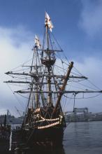 Drake's Ship, the Golden Hinde