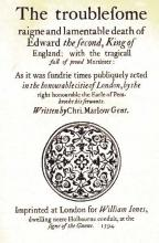 Edward II, Title Page (1594 Edition)