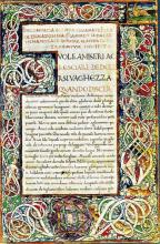 Elegia di Madonna Fiammetta: An Early Copy of Boccaccio's Romance