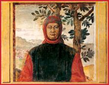 Francesco Petrarca (1304-1374), known in English as Petrarch