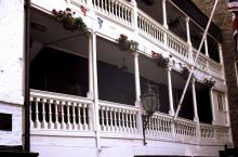 George Inn Balcony