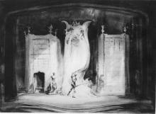 Hamlet, Jo Mielziner's Set Design, 1936