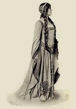 Hamlet, Lily Brayton as Ophelia, 1905