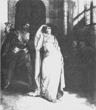 Hamlet, Sarah Siddons as Ophelia