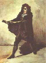 Hamlet, Thomas Betterton as Hamlet, 1661