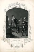 Hamlet, William Macready as Hamlet