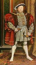 Henry VIII, King of England (1491-1547) as he is usually presented on stage
