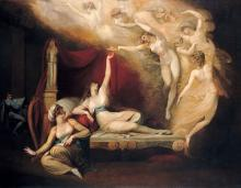 Henry VIII: Queen Katherine's Dream by Henry Fuseli