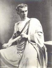 Julius Caesar, Lawrence Barrett as Cassius, 1870