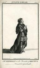 Julius Caesar, Thomas Sheridan as Brutus