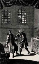 King Henry VI, Part 3, The Murder of Henry VI in the Tower of London by Richard of Gloucester
