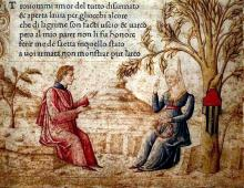 Laura and Petrarch: Love in a Landscape