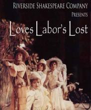 Love's Labour's Lost, Riverside Shakespeare Company, 1981 (Poster)