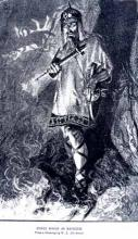 Macbeth, Edwin Booth (1833-1893) as Macbeth