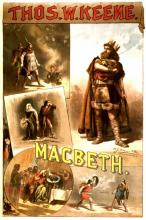 Macbeth, Thos. W. Keene as Macbeth, 1884 (Poster)