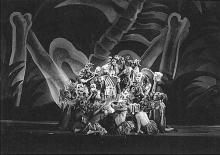 Macbeth: WPA Federal Theatre Project in New York: Negro Theatre, ca. 1935