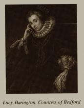 Lady Lucy Harington, Countess of Bedford