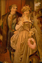 Much Ado About Nothing, Ellen Terry and Henry Irving as Beatrice and Benedick, 1870