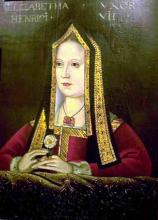 Queen Elizabeth of York (1465-1503). c. 1500.