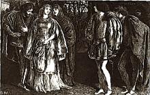 Scene from Lope de Vega's Castelvines y Monteses