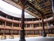 Shakespeare's Globe Theatre, View of the Empty Globe