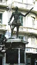 """Statue of the Bastard Don John of Austria in Messina - """"Much Ado About Nothing"""""""