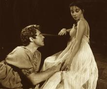 Stratford Festival, Stratford, Ontario, Canada: Troilus & Cressida: 1963.