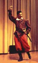 The Bastard Don John of Shakespeare's Much Ado, UC Berkeley, 1996: Andres Davidovits