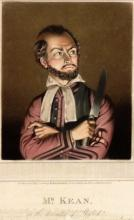 The Merchant of Venice, Edmund Kean (1789-1833) as Shylock