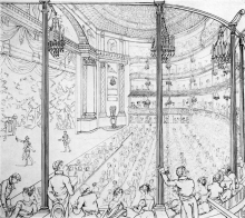 The New Theatre Royal, Drury Lane, 1813