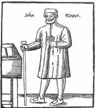 The poet John Gower as Chorus in Pericles