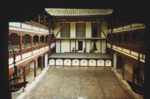 The Renaissance Open-air Theatre at Almagro (Madrid)