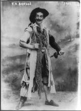 The Taming of the Shrew, Frank Benson as Petruchio, 1916