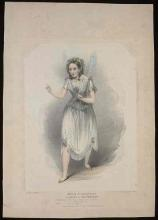 The Tempest: Priscilla Horton as a Winged Ariel