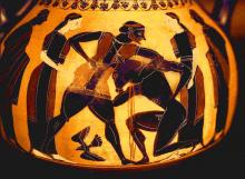Theseus Killing the Minotaur