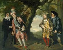 Twelfth Night: Scene from Act III